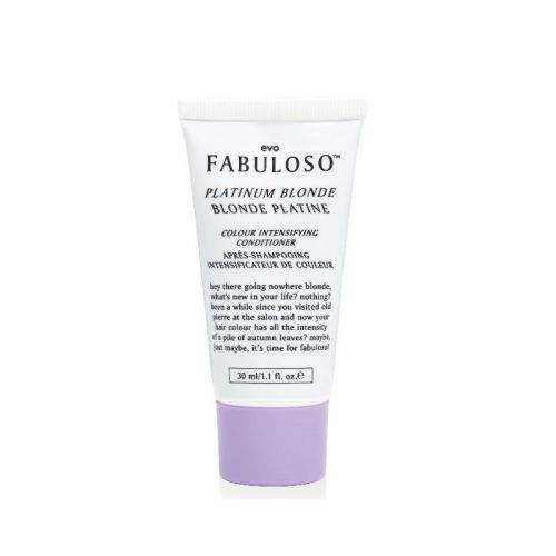 Evo fabuloso Colour Intensifying Conditioner Platinum Blonde 30ml