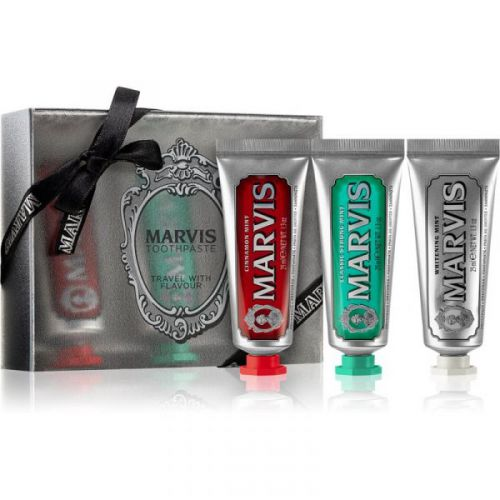 Marvis 3 flavours box - Classic, Whitening, Cinnamon 3x25ml